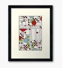 Frank lloyd wright S02 Framed Print