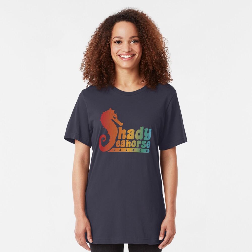 Shady Seahorse Lagoon Slim Fit T-Shirt