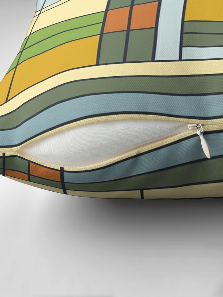 Alternative Ansicht von Frank Lloyd Wright S01 Dekokissen