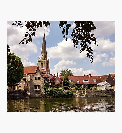 River Thames - Abingdon Photographic Print