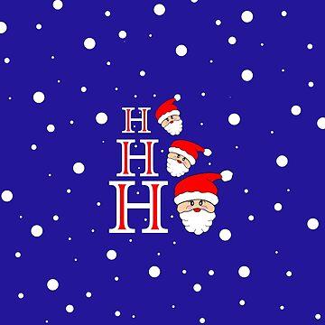 Santa Ho Ho Ho - Merry Christmas by kathlesa