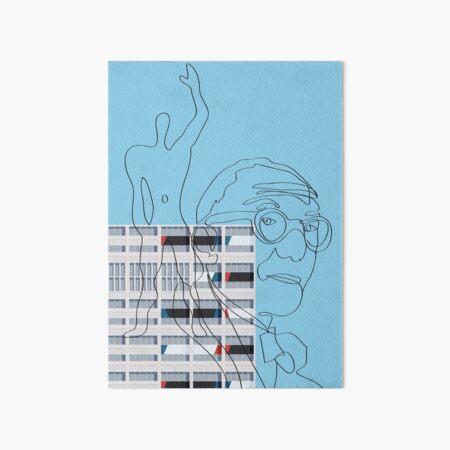 Le Corbusier Facade S03-5 Art Board Print