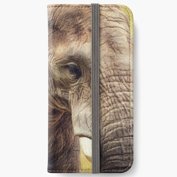 Elephant 4 iPhone Wallet