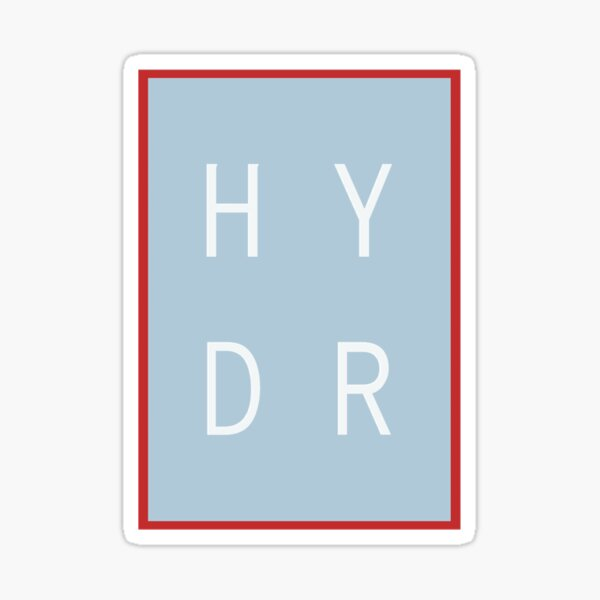 HYDR - ole miss Sticker