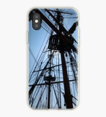Rigging Of A Wooden Ship iPhone Case
