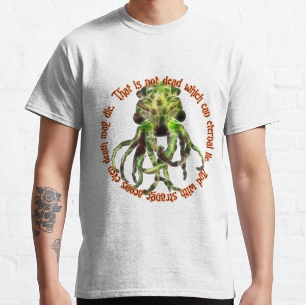 Cthulhu - That is not dead Classic T-Shirt