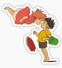 Ponyo and Sasuke Sticker