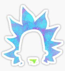 Rick Sanchez silhouette  Sticker