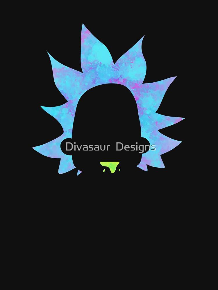 Rick Sanchez silhouette  by DivasaurDesigns