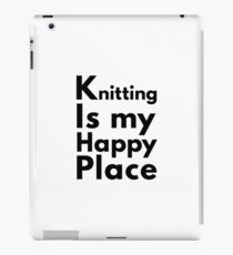 Happy Knitting iPad Case/Skin