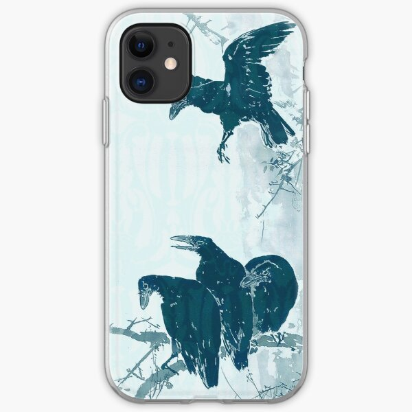 Four Crows iPhone Soft Case