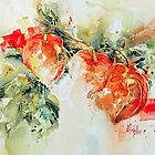 Chinese Lanterns by Bev  Wells