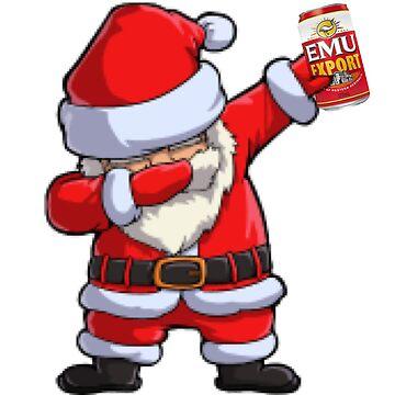 EMU Export Dabbing Santa by Jtunes84