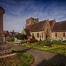 East Hoathly Church by Dave Godden