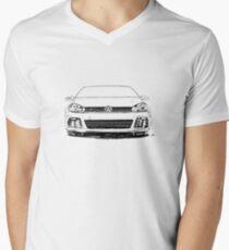 GTI R Mens V-Neck T-Shirt