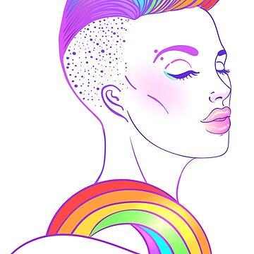 Rainbow Babe by varka