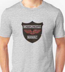 Motorcycle Maniac Unisex T-Shirt