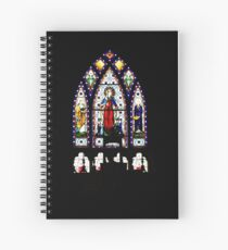 Cuaderno de espiral Church Stained Glass