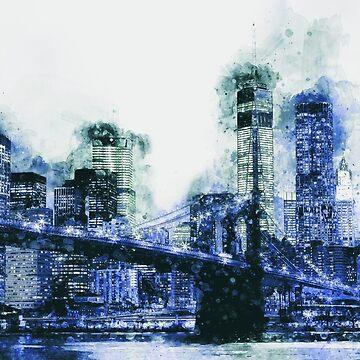 New York Panorama by ErianAndre