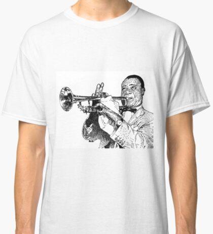 Jazz musician Louis Armstrong Classic T-Shirt