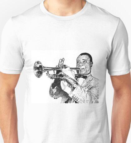 Jazz musician Louis Armstrong T-Shirt