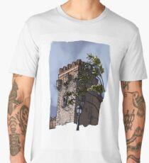 Torre del palacio Camiseta premium para hombre