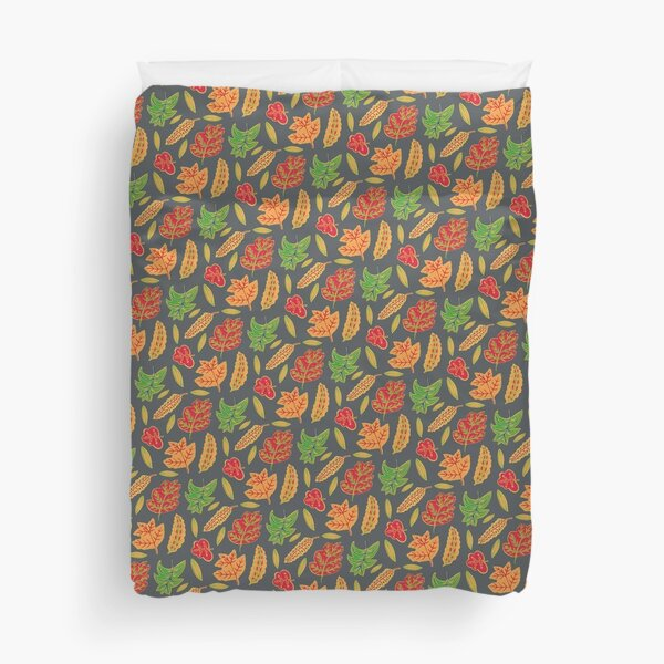 A walk in the woods on Christmas Eve Duvet Cover