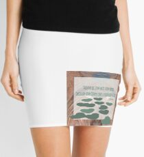 Above All Love Each Other Deeply by Cecile Grace Charles Mini Skirt