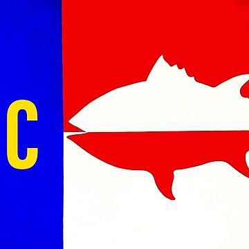 NC flag Tuna by barryknauff
