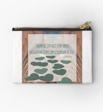 Above All Love Each Other Deeply by Cecile Grace Charles Studio Pouch