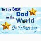 Best Dad by Jandzart013