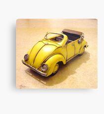 yellow bug Metal Print