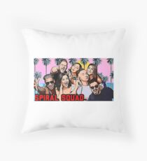 Spiral Squad Floor Pillow