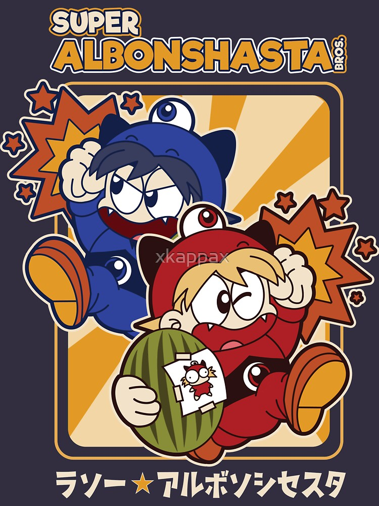 Super Albonshasta Bros.  by xkappax