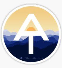 Appalachian Trail Sonnenaufgang Sticker