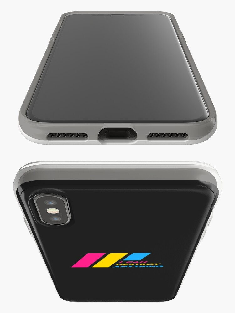Alternate view of [OLD] Pride Stripe: I Can Destroy Anything iPhone Case & Cover