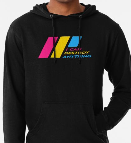 [OLD] Pride Stripe: I Can Destroy Anything Lightweight Hoodie