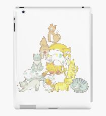 Knitted Purrfect Christmas tree made of cute cats iPad Case/Skin