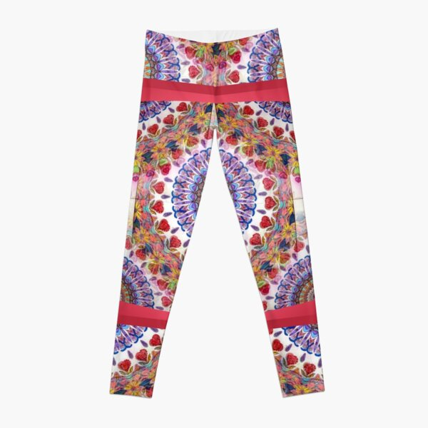 Style Old Colored Lace Fall Into Winter Design at Green Bee Mee Leggings