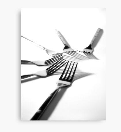 For forks sake Canvas Print