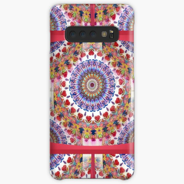 Style Old Colored Lace Fall Into Winter Design at Green Bee Mee Samsung Galaxy Snap Case