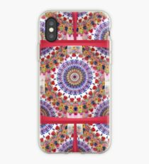 Style Old Colored Lace Fall Into Winter Design at Green Bee Mee iPhone Case