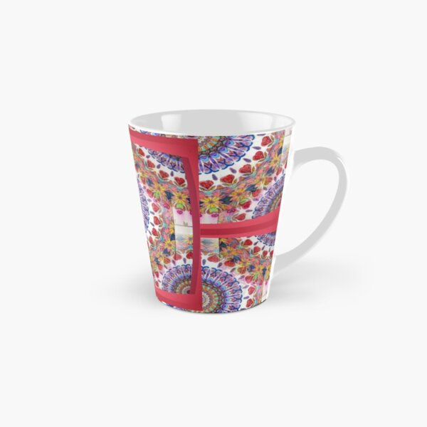 Style Old Colored Lace Fall Into Winter Design at Green Bee Mee Tall Mug