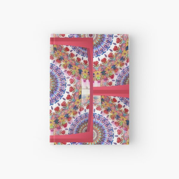 Style Old Colored Lace Fall Into Winter Design at Green Bee Mee Hardcover Journal