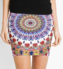 Style Old Colored Lace Fall Into Winter Design at Green Bee Mee Mini Skirt