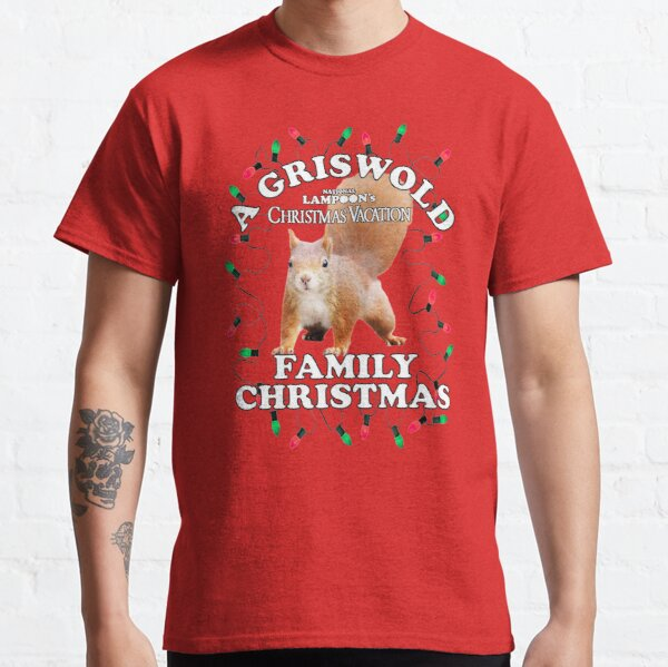 National Lampoon's - Christmas Full Squirrel Attack Classic T-Shirt