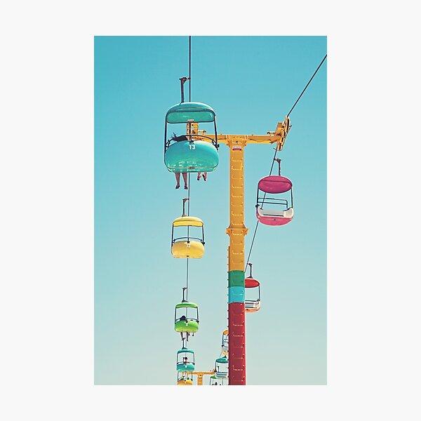 Gondolas - Santa Cruz Photographic Print