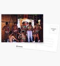 Behind The Yakuza  Postcards