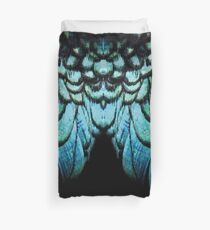 feathery necklace Duvet Cover