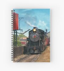 Train - Strasburg Number 9 Spiral Notebook